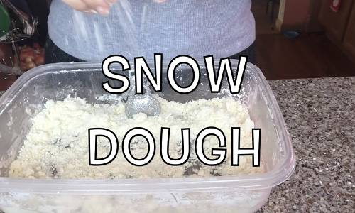 Let's Make Snow Dough!