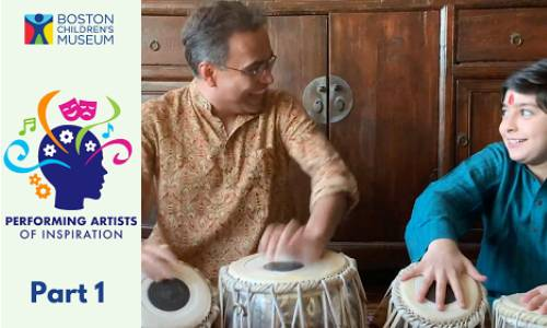Performing Artists of Inspiration: Sandeep Das Demonstrates the Tabla