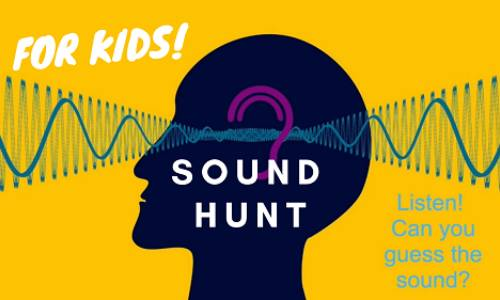 Sound Hunt Activity for Kids at Home